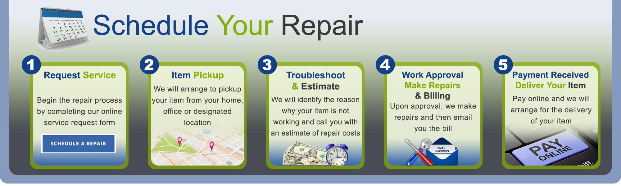 Schedule A Repair Kitsap Small Appliance Repair
